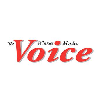 Winkler Morden Voice logo